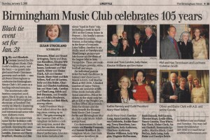 clipping from Birmingham News