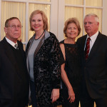 Jim and Marsha Drennen, Co-Chairman of the Gala and Judy and Charles Anderson, Chairman of the Gala