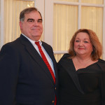 Perry and Pat Grant, President of the Music Guild