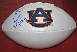 Auburn Football autographed by Coach Malzahn
