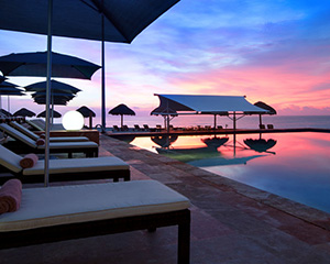 Cancun Coastal Adventure for 2, 4 nights at Westin Resort & Spa, RT airfare for 2, Parasailing, Snorkeling Catamaran Cruise