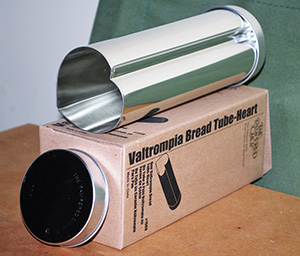 Pampered Chef Heart-shaped Bread Tube