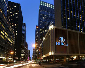 Long Weekend in New York, 3 night stay at Midtown Hilton, RT airfare for 2, 2 tickets to a Broadway Show of your choice, dinner
