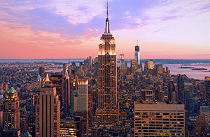 New York Night on the Town travel package (2 nights at the Grand Hyatt, RT airfare for 2, 2 tickets to a Broadway Show of your choice)