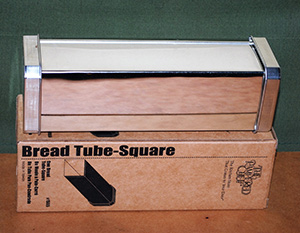 Pampered Chef square bread tube